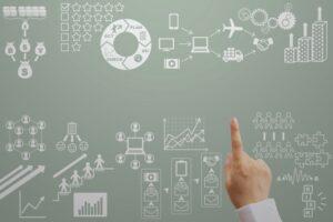 ビジネスにまつわるグラフや図解