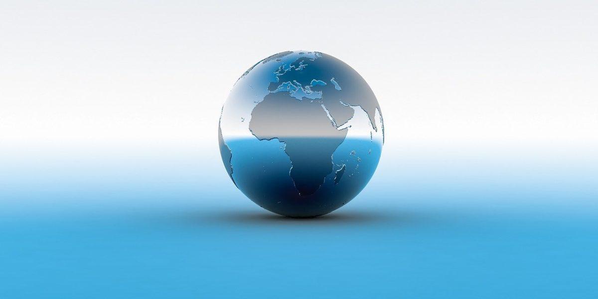 地球の置物