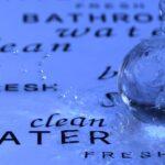 水をかけられた水晶