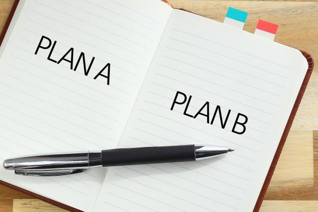 計画ノートとペンのイメージ